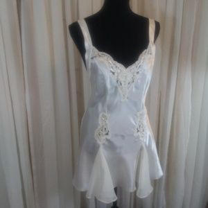 Victorias Secret Vintage 1980's Short Nightgown